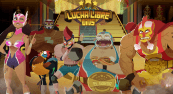 'Lucha Libre Wins' by 'Bla Bla Bla Studios'. Click the image to enlarge.