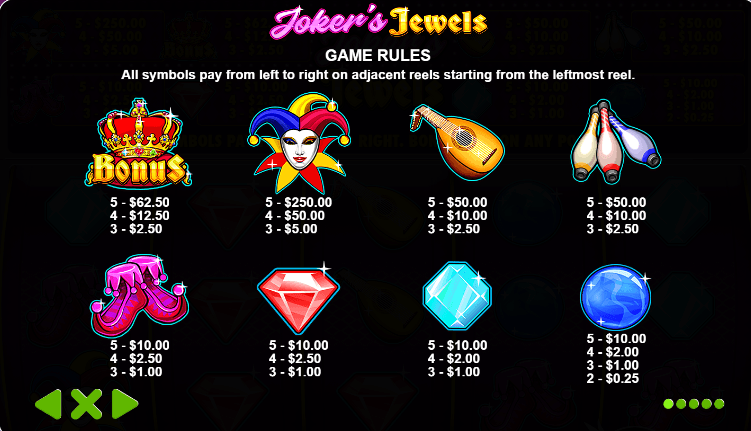 Joker S Jewels By Pragmatic Play Slot Review At Keytocasino