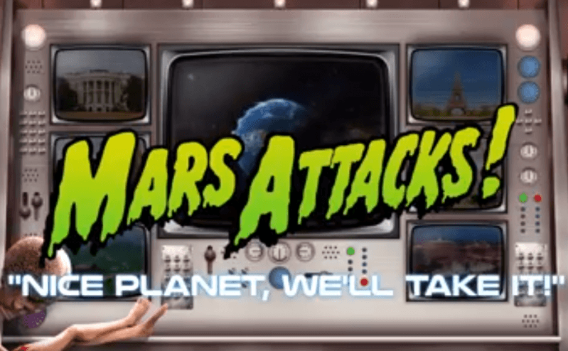 Mars attacks slots by blueprint gaming malvernweather Image collections