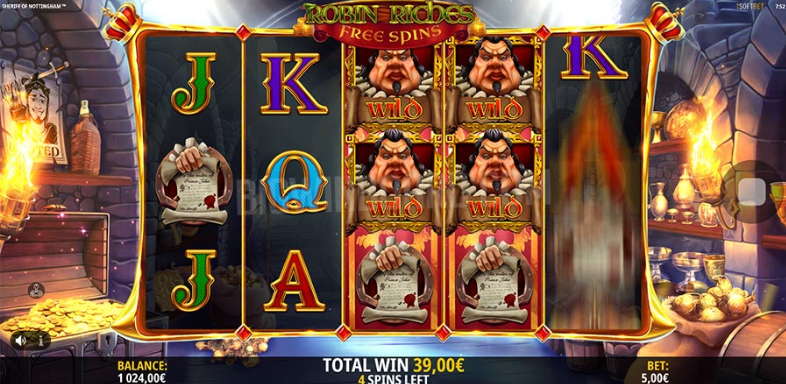 Sheriff Of Nottingham Slot Review ᐈ Check Its Winning Potential