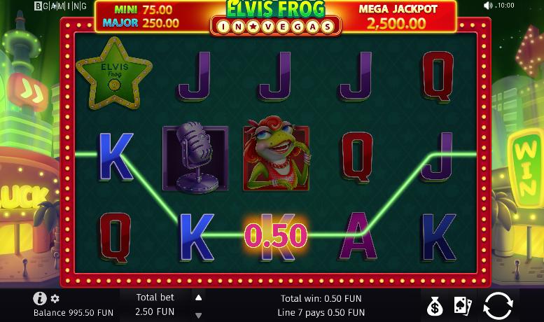 Vegas X Online Casino - Corner House Dental Practice Slot Machine