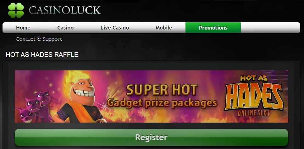 Casinoluck mobile casino