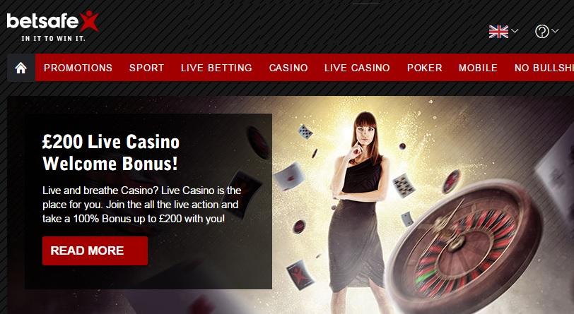 betsafe casino welcome offer