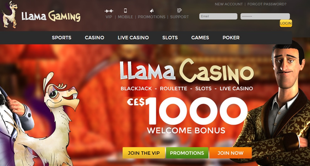 Llama Gaming Casino Review - Is this A Scam/Site to Avoid