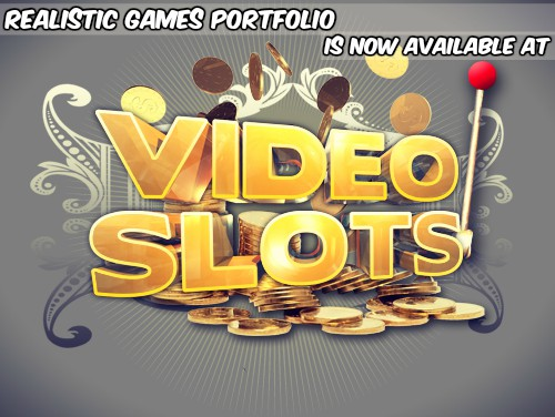 Realistic Games Portfolio is Now Available at VideoSlots