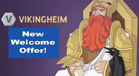 Hero's Welcome at Vikingheim Casino Includes New Games