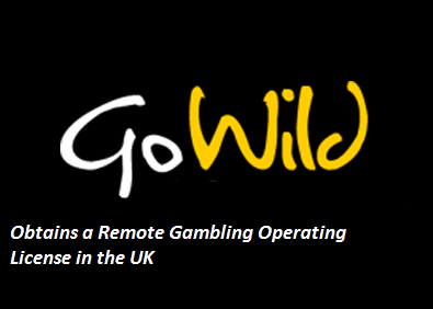 GoWild Obtains a Remote Gambling Operating License in the UK