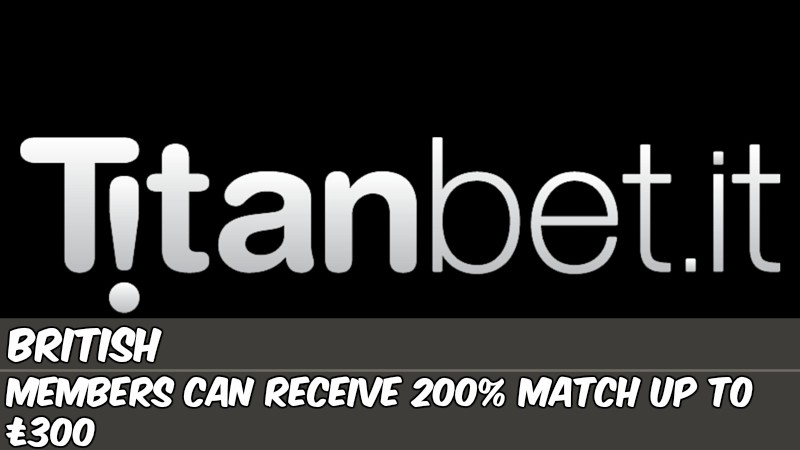 Titanbet.it Introduces New Welcome Offer for UK Players