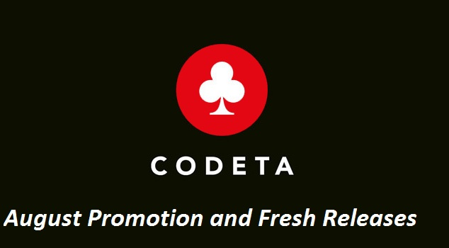 New at Codeta: August Promotion and Fresh Releases