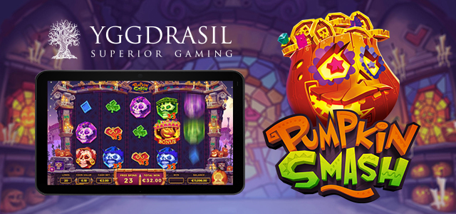 Yggdrasil Has Released Pumpkin Smash Slot Before Halloween