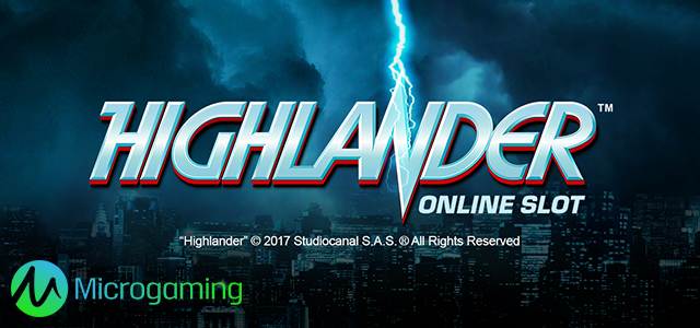 Legendary Highlander Film on the Reels of New Microgaming's Slot
