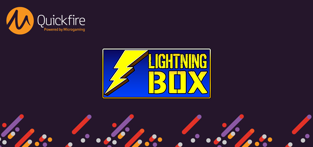 Lightning Box Goes Live on Quickfire Soon