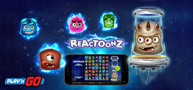 Unique Reactoonz Slot by Play'n GO is Already Live