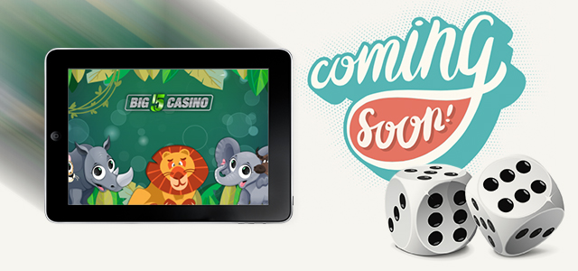 Go on a Safari with Upcoming BIG 5 Casino
