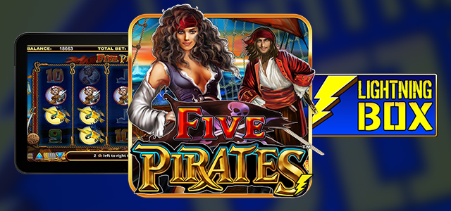 Five Pirates Slot by Lightning Box Takes Players into an Unforgettable Nautical Adventure