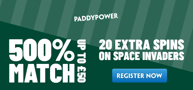 Paddy Power Bonus Promo Code for 20 Risk Free Bet