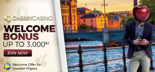 Popular Welcome Offer for Swedish Players at CherryCasino is Back!